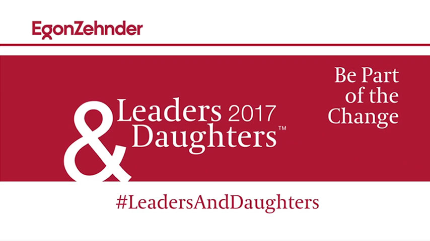 Egon Zehnder Leaders & Daughters 2017